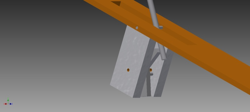 Truly automatic crossbow, design 1 Simple10