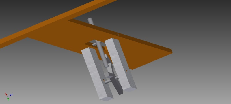Truly automatic crossbow, design 1 Simple11