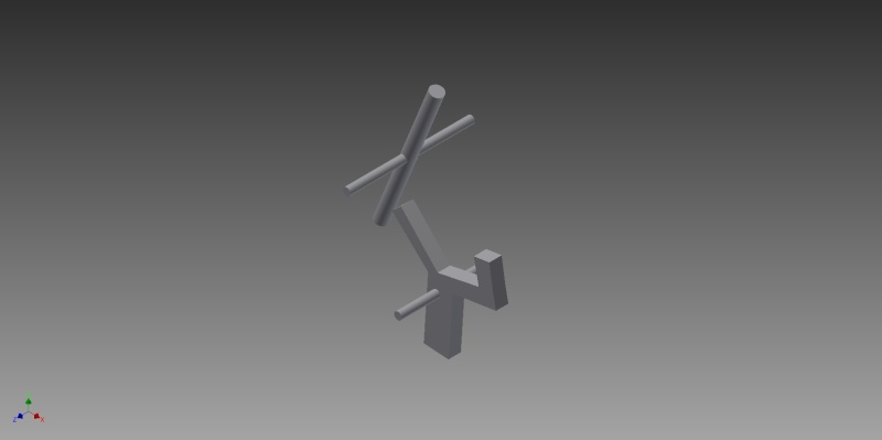 Truly automatic crossbow, design 1 Trigge10