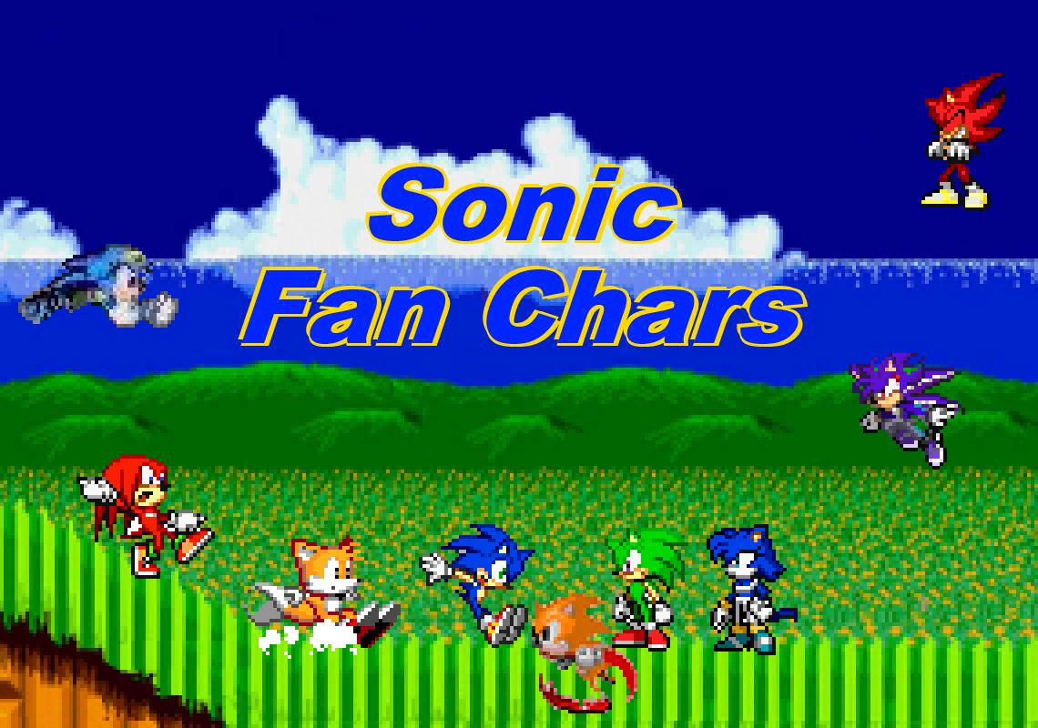 sonic fan char