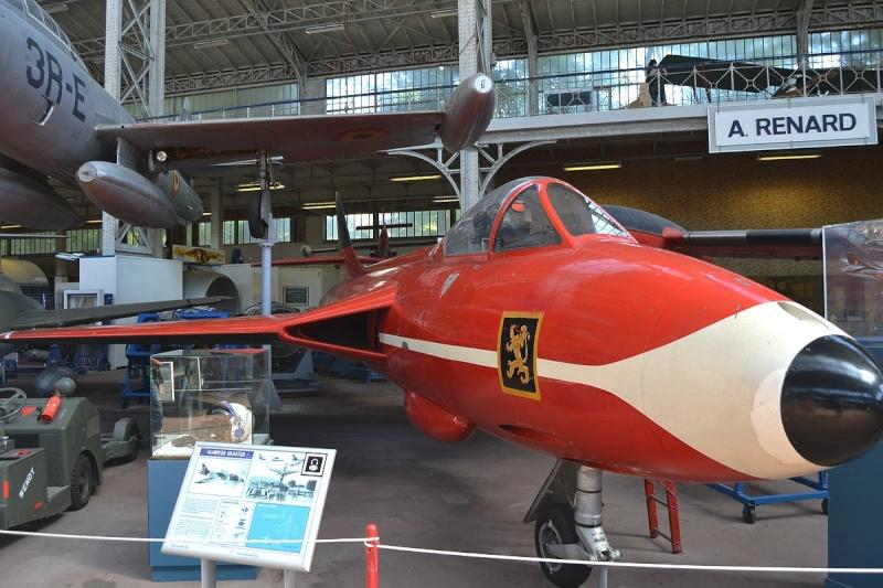 Musée royal de l'armée et de l'histoire militaire Bruxelles  Hawker10
