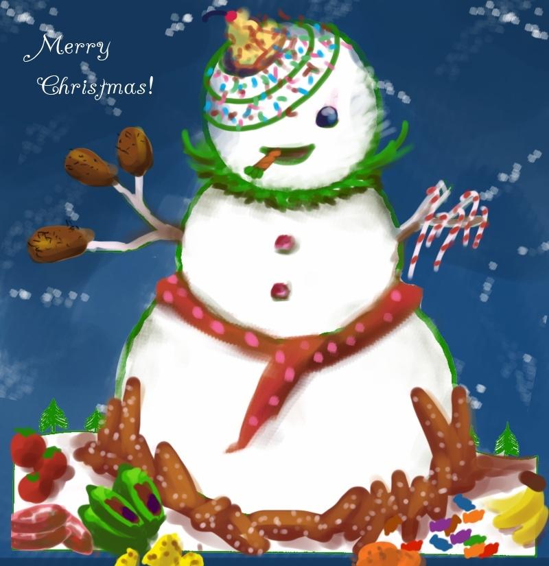 Snowman Decorating Contest Merryx11