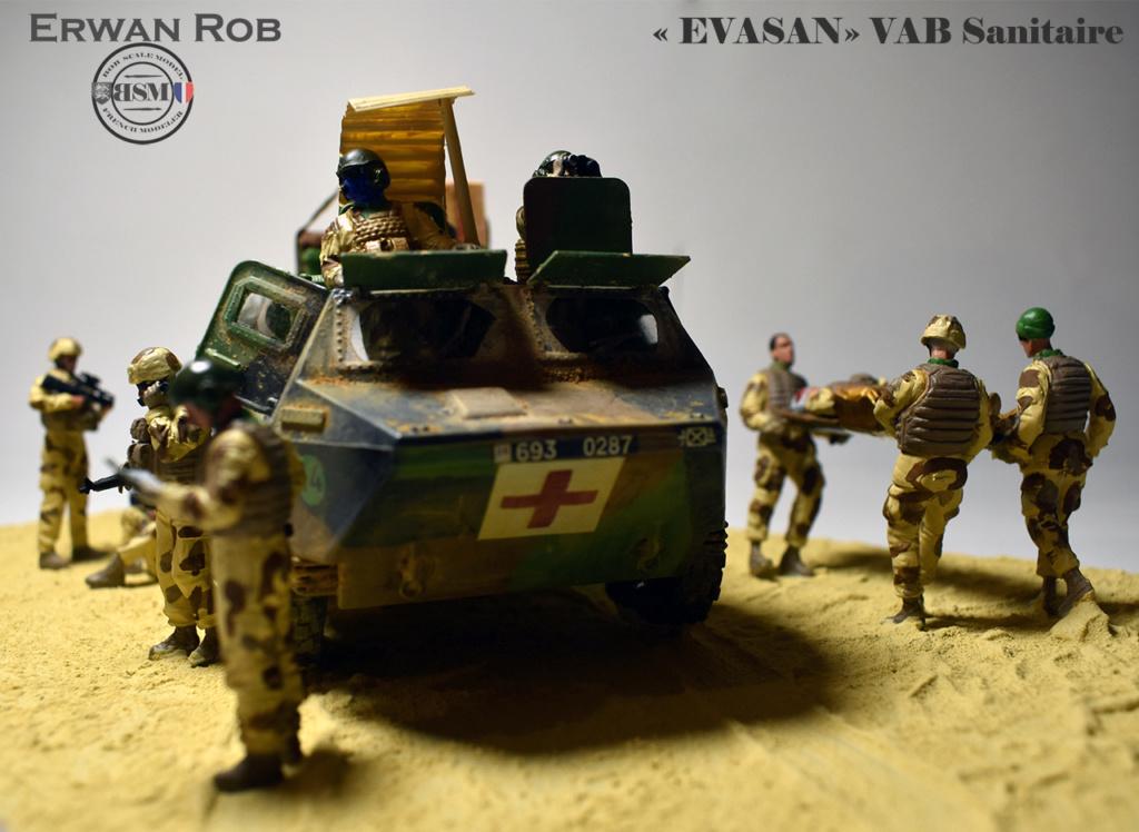 EVASAN en VAB Sanitaire Réf 81130 710