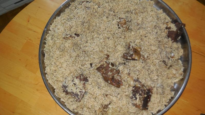 Basic beef in rice. Dscn0710