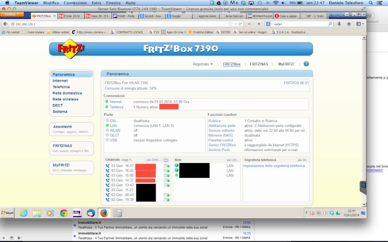 Problema con connessione MyFritz da app e da pc Scherm10