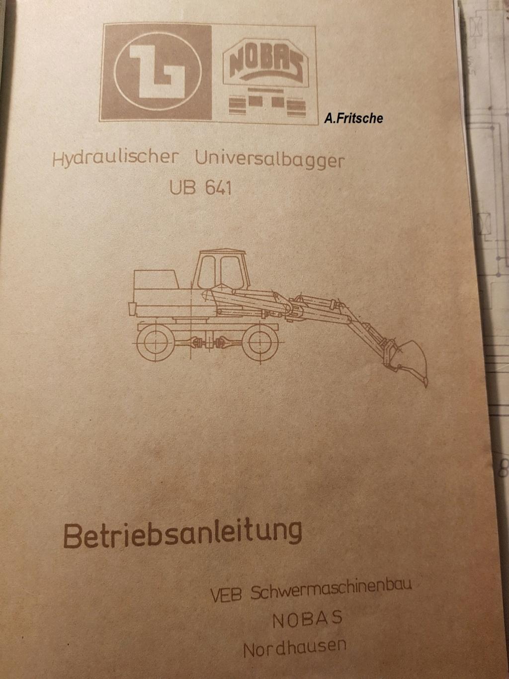 NOBAS UB 632 Mobilbagger 20190111