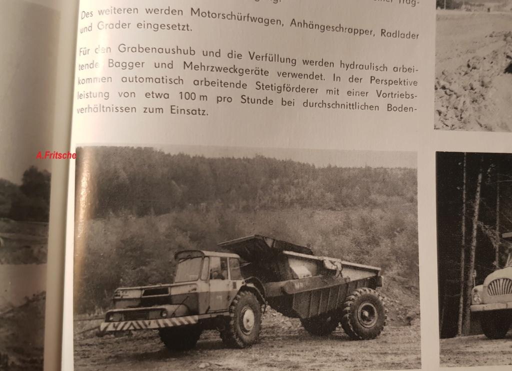Stavostroj Einachsschlepper T180/D10 Kübelkipper und T180/S10 Scraper 20190113