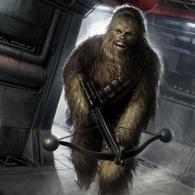 Star Wars: Projet HDNAM  Chewie10
