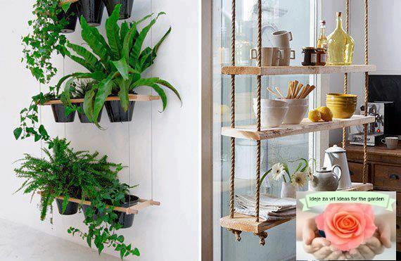 Stalci i police za biljke.. 121