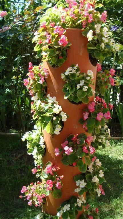 Viseće saksije- cvijetni stubovi.. Idejac10