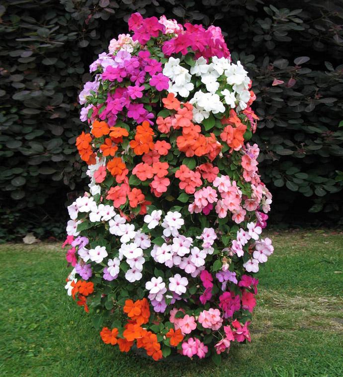 Viseće saksije- cvijetni stubovi.. W113