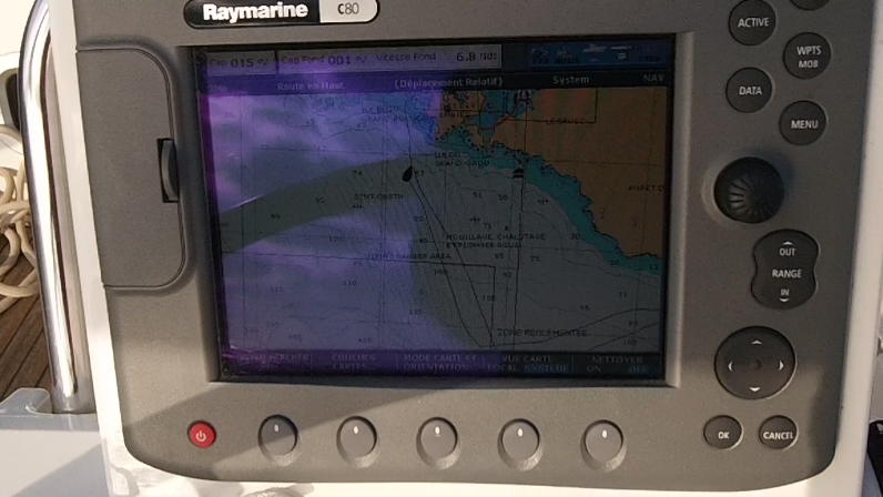 Connecter Centrale RAYMARINE à tablette Android 12-18-11