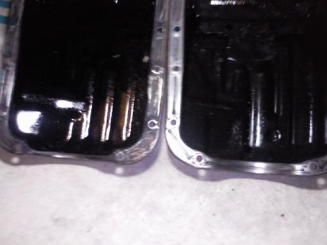 Fuite joint carter huile sur lj 73.  Photo129