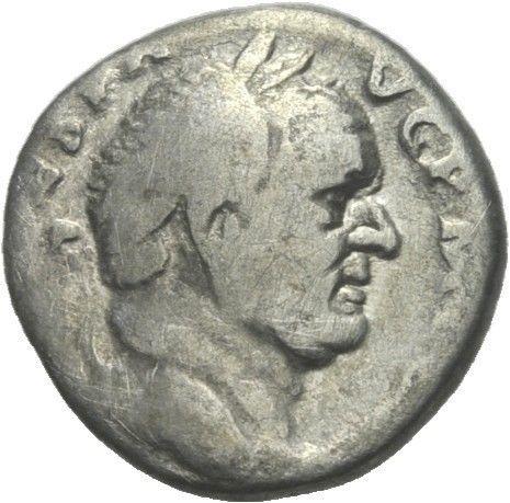 Denier de Vespasien Vespas10