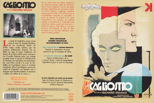 Cagliostro (Suzanne Bianchetti) réalisé en 1929 par Richard Oswald 1929ca10