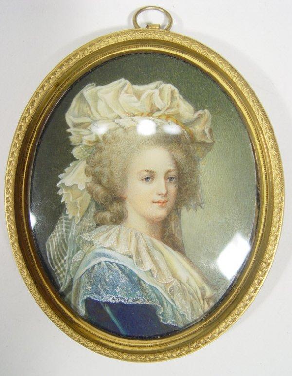 A vendre: miniatures de Marie Antoinette et de ses proches 19802310