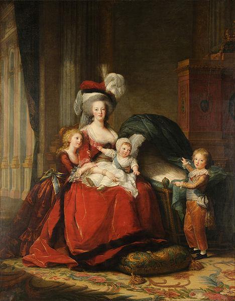Portrait Marie Antoinette et ses enfants par Elisabeth Louise Vigée Lebrun - Page 2 468px-10