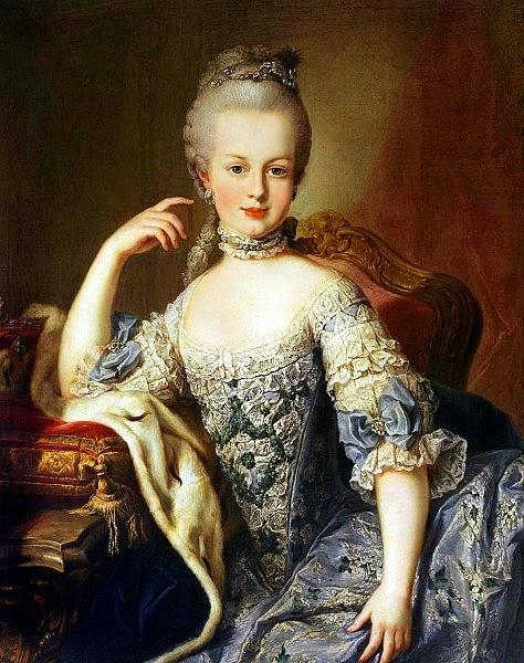16 mai 1770: Mariage en personne du Dauphin et de Marie-Antoinette 474px-10