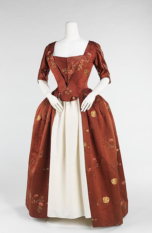 robes XVIIIe: styles, couleurs et matières  69_78_10