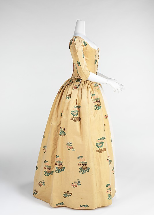 robes XVIIIe: styles, couleurs et matières  73_3_111
