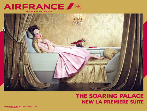 Marie Antoinette sur Air France Airfra10
