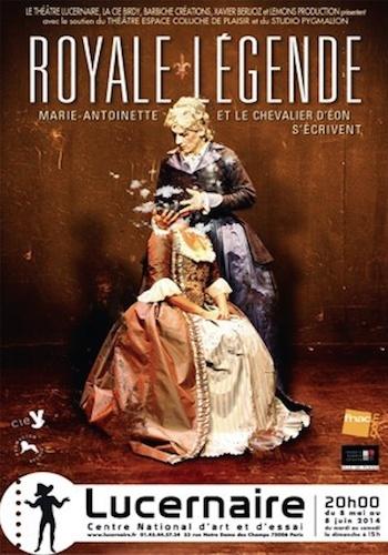 Royale Légende: L'amitié entre Antoinette et le Chevalier d'Eon  Captur15
