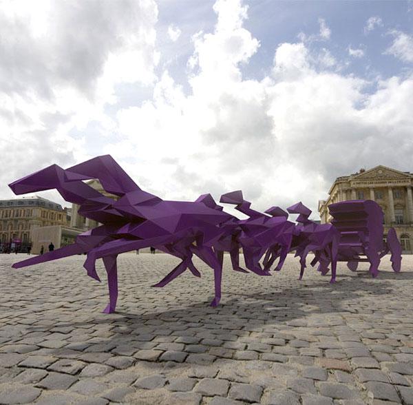 Veilhan: de Versailles en Cluny D7570610