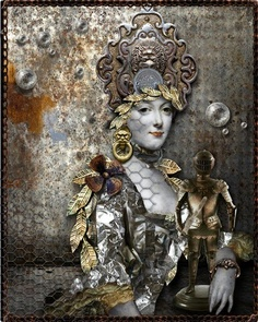 Marie Antoinette steampunk Fa11e110