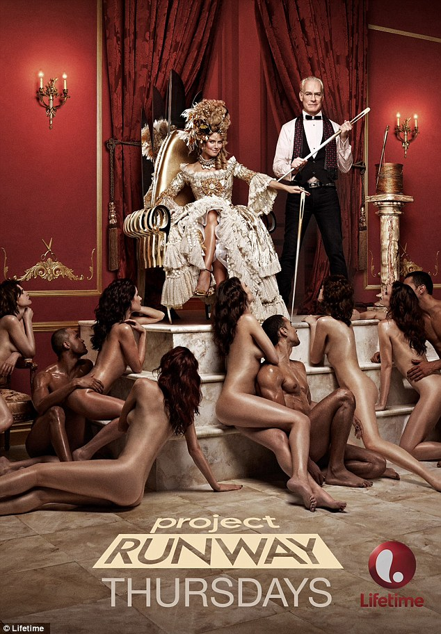 Heidi Klum censurée en Marie Antoinette Heidi-10