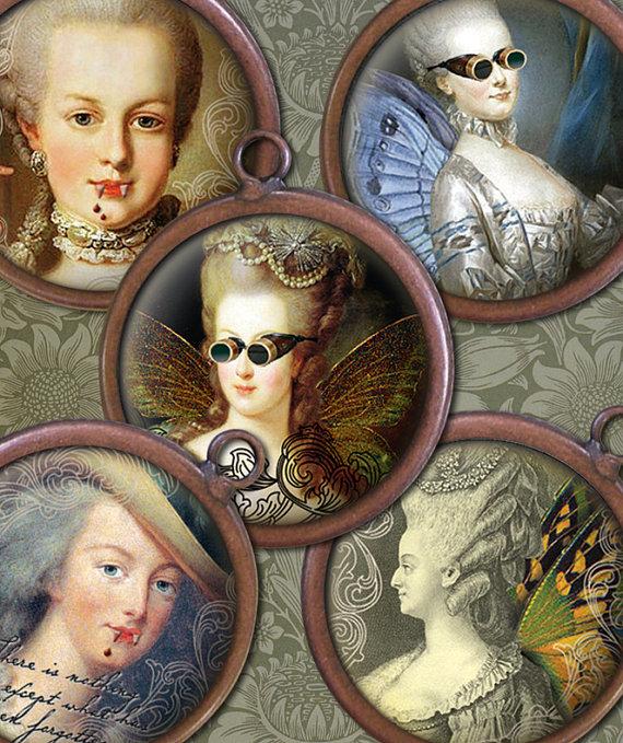 Marie Antoinette steampunk Il_57011