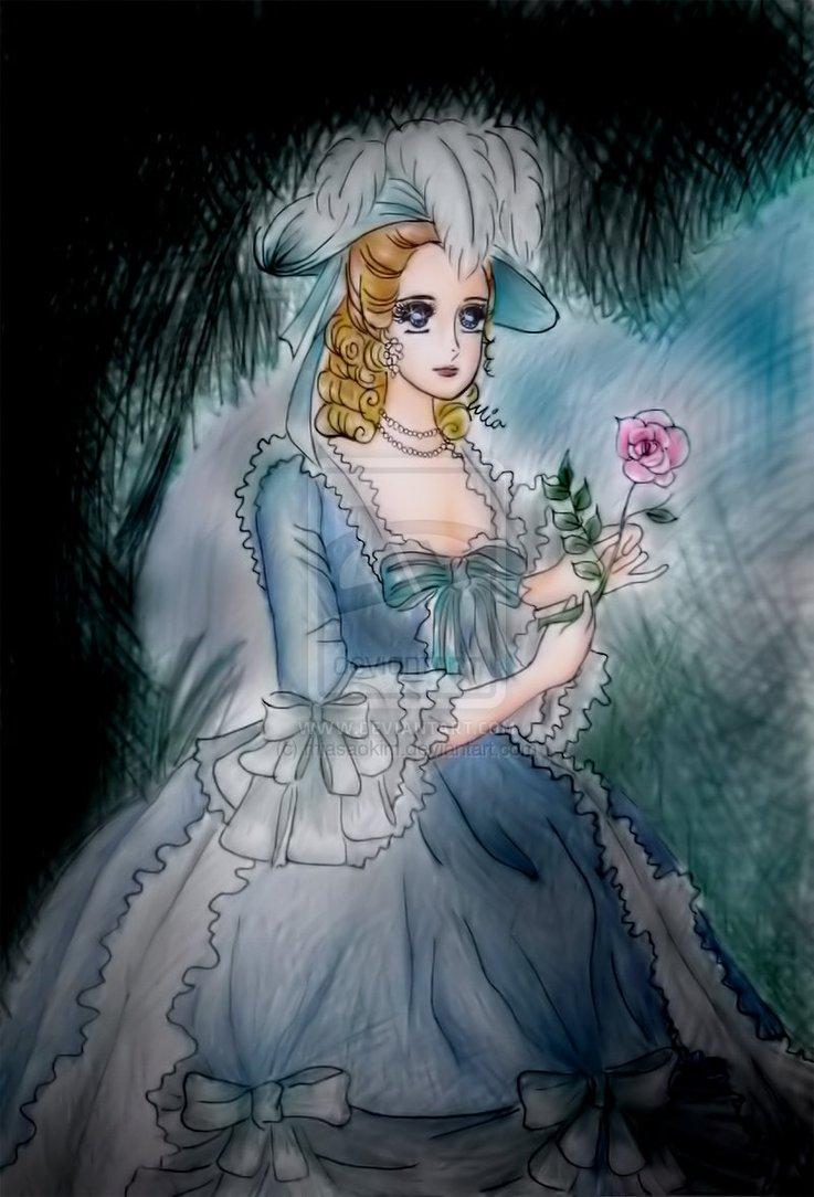 Variations sur le portrait à la rose Marie_39
