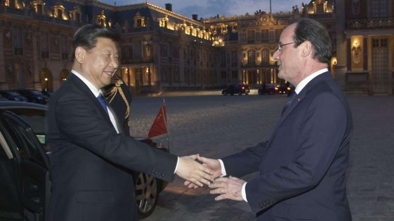 Les fastes de Versailles pour le président chinois  Pho46110