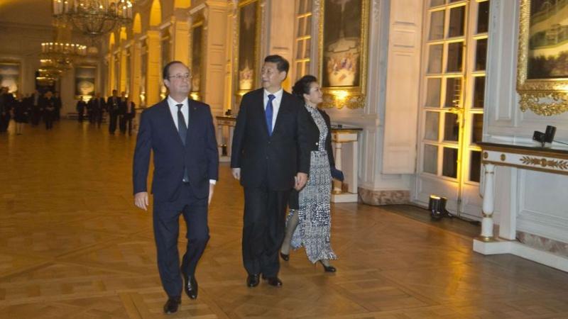 Les fastes de Versailles pour le président chinois  Pho5c510
