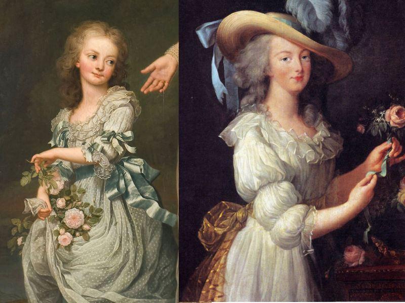The Devil Wears A White Dress: Antoinette et la chemise  Sideby10