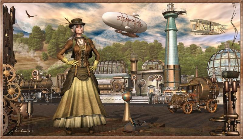 Marie Antoinette steampunk Steamp12