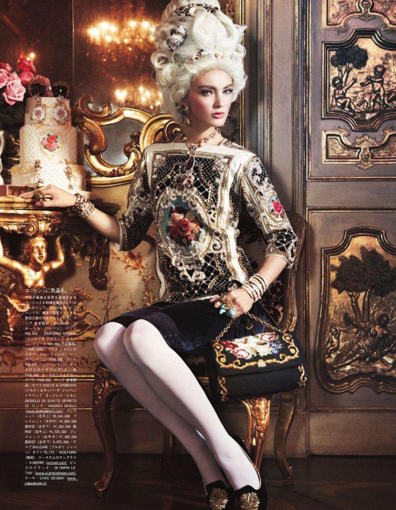 Marie Antoinette par Giampaolo Sgura pour Vogue Nippon Ymre-s10