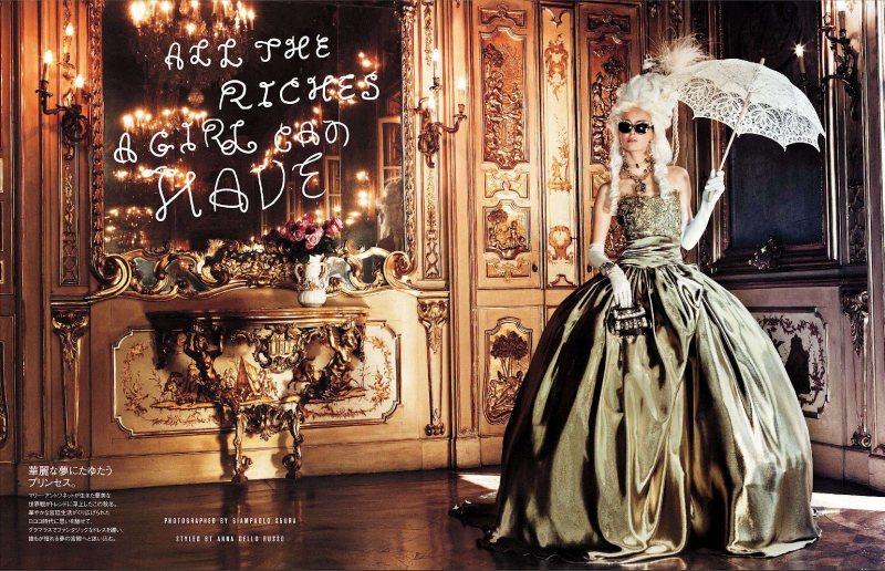 Marie Antoinette par Giampaolo Sgura pour Vogue Nippon Ymre-s11