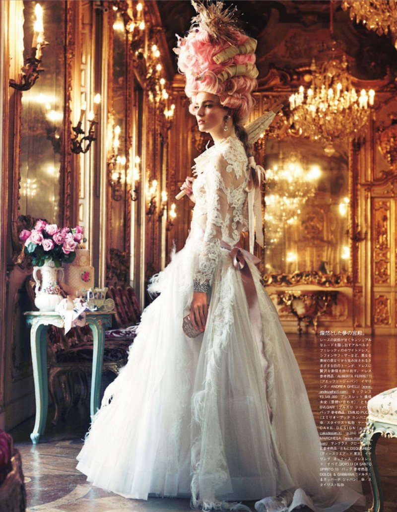 Marie Antoinette par Giampaolo Sgura pour Vogue Nippon Ymre-s12