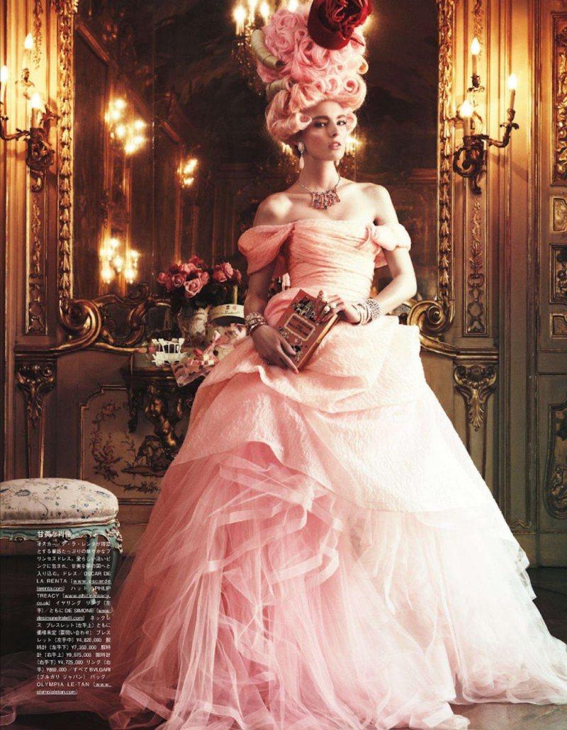 Marie Antoinette par Giampaolo Sgura pour Vogue Nippon Ymre-s13