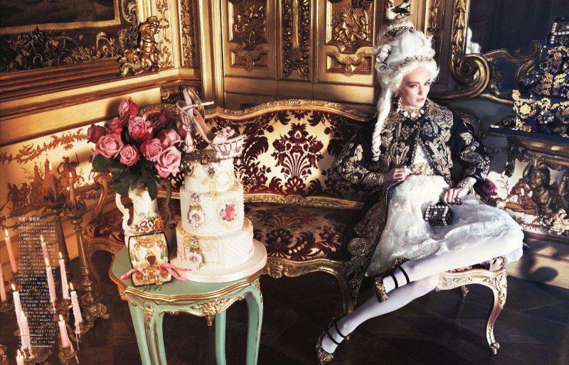 Marie Antoinette par Giampaolo Sgura pour Vogue Nippon Ymre-s14