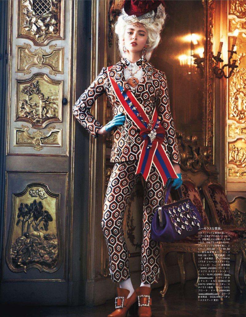 Marie Antoinette par Giampaolo Sgura pour Vogue Nippon Ymre-s15