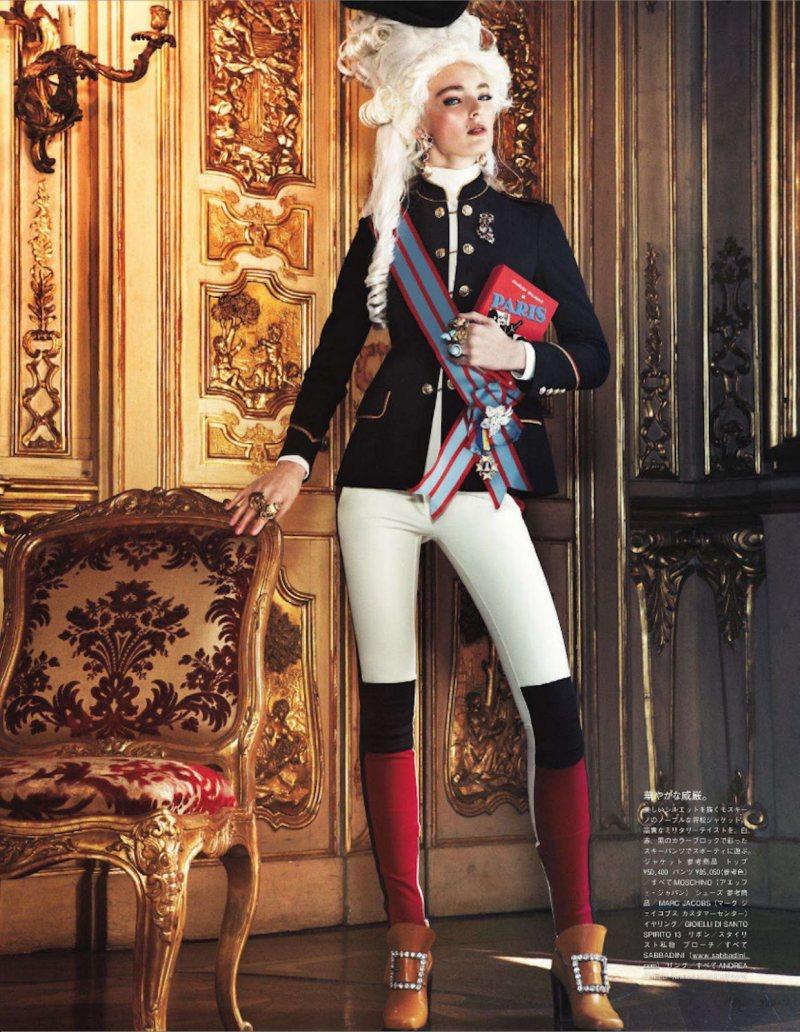Marie Antoinette par Giampaolo Sgura pour Vogue Nippon Ymre-s16