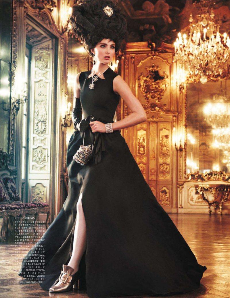 Marie Antoinette par Giampaolo Sgura pour Vogue Nippon Ymre-s17
