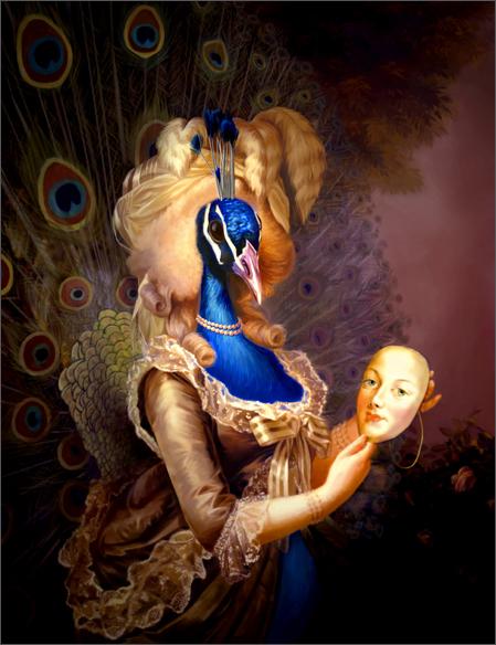 Variations sur le portrait à la rose Yuling10