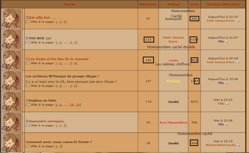 Homonumbers + performances  - Page 5 Homono13