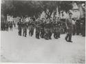 Les FFI défilent fièrement à la libération d'Orange (84) Esteve21