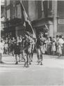 Les FFI défilent fièrement à la libération d'Orange (84) Esteve23