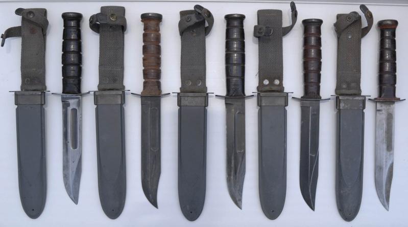 Quelques couteaux US WWII de ma collection Usn_mk11