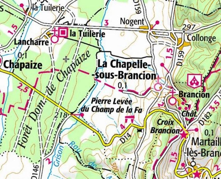 La chapelle sous Brancion, un peu de culture... Carte_12