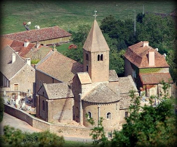 La chapelle sous Brancion, un peu de culture... Chapel10